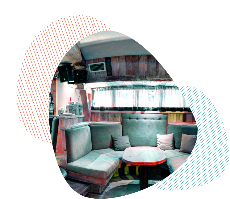 photo salle formes couleurs